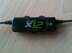 Turtle Beach Ear Force X12 Bedienelement