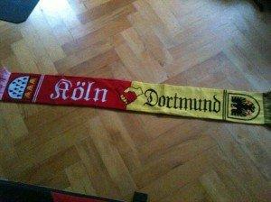 Fanfreundschaft 1. FC Köln und Borussia Dortmund