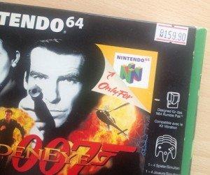 Videospiele-Preise - Goldeneye 007 für Nintendo 64